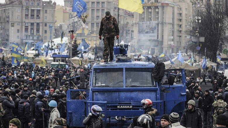 أزمة أوكرانيا في صور