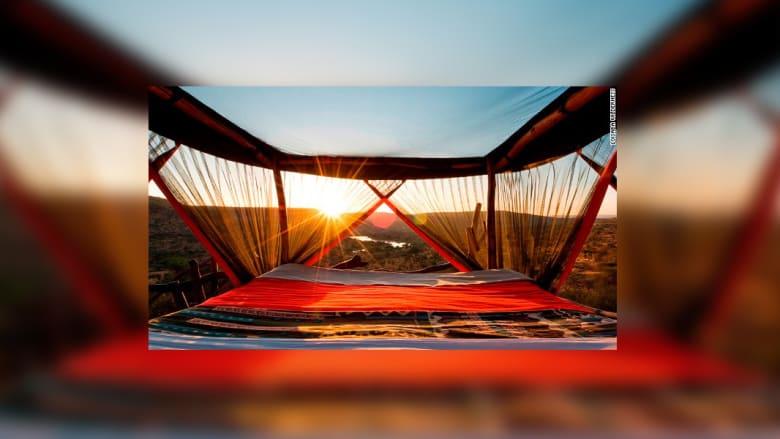 أفضل الأماكن الساحرة في أفريقيا للنوم تحت النجوم