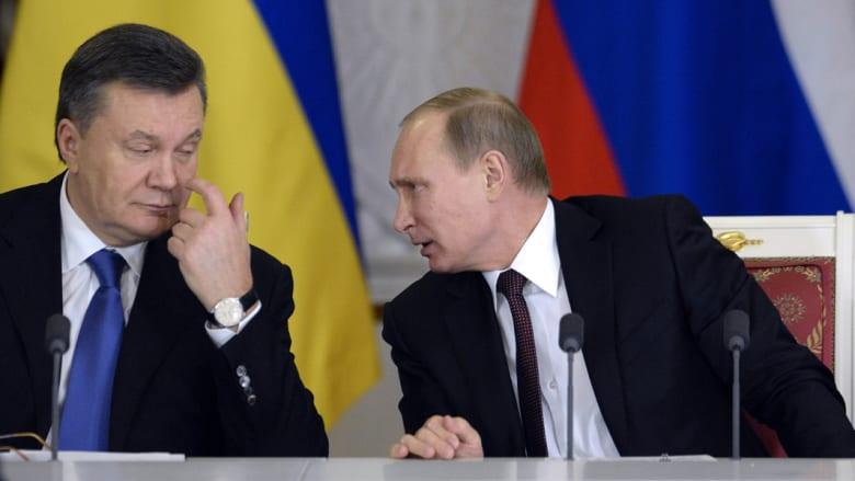 يانكوفيتش بمؤتمر صحفي: غادرت أوكرانيا خوفاً على حياتي