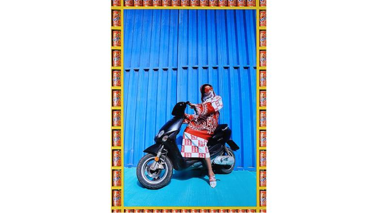 بالصور..تعرفوا على نساء الدراجات بمراكش