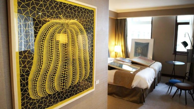 فندق يتحول لمعرض فني بمليون دولار