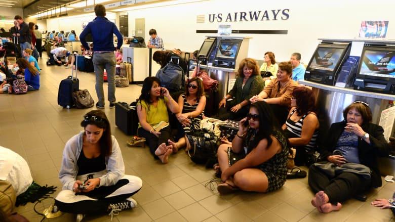 2.5 مليار دولار خسائر الطيران جراء طقس أمريكا السيء