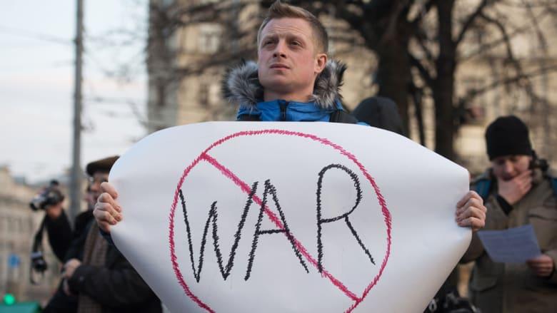 تحركات عسكرية روسية أمريكية منذ بدء الأزمة الأوكرانية