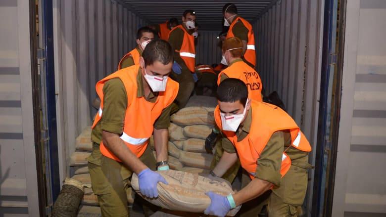 بالصور .. إسرائيل: هذا بعض ما وجدناه في السفينة