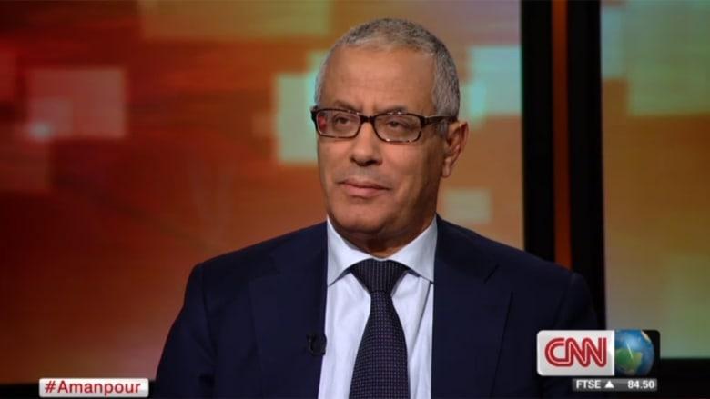 """علي زيدان لـCNN: قرار الغرب بعدم إرسال قوات لليبيا بعد الثورة """"سيء"""""""