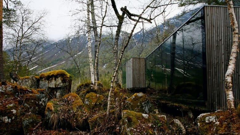 بالصور..أجمل بيوت الغابة المنمنمة