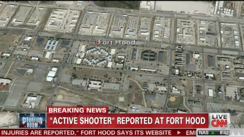 بالصور.. تطورات حادثة إطلاق النار بقاعدة فورت هود