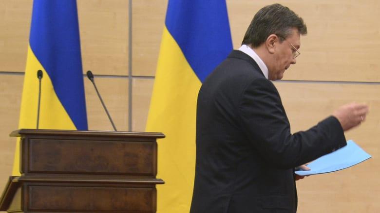 مصير القرم شبه مؤكد في الاستفتاء.. ويانكوفيتش: سأعود