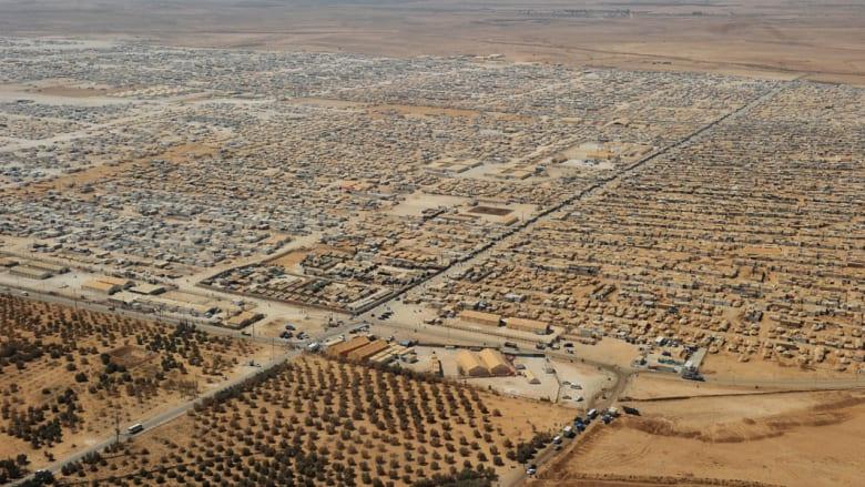 الأردن : مسح للزعتري بعد مقتل لاجئ وإصابة 29 دركيا وتضارب حول أسباب الشغب