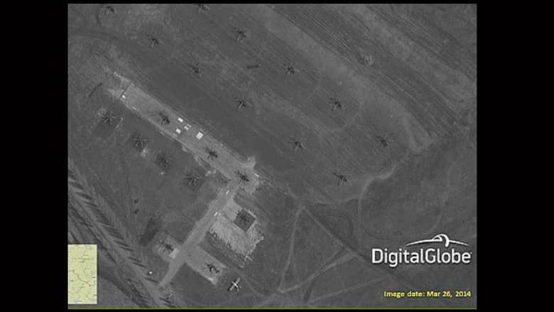 طائرات مروحية قرب حدود أوكرانيا
