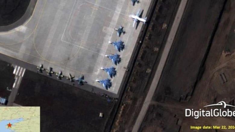 صور للناتو تظهر استعداد الجيش الروسي لغزو أوكرانيا خلال 12 ساعة