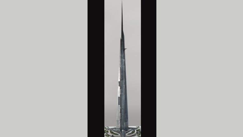 """""""ناطحة"""" سعودية قد تجرد برج خليفة من لقب أعلى مبنى بالعالم"""