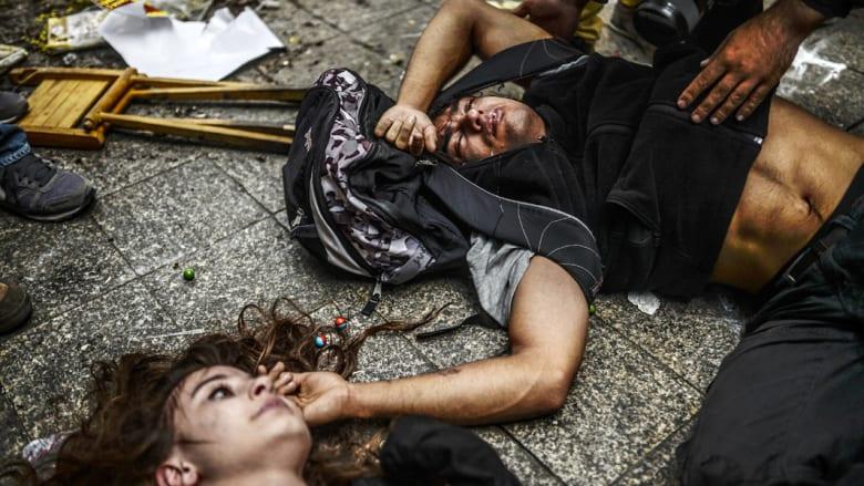 الشرطة التركية تستعمل الغاز المسيل للدموع في مظاهرات ذكرى غيزي