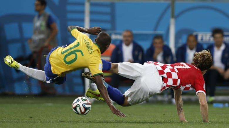 لقطات من مباراة افتتاح كأس العالم بالبرازيل