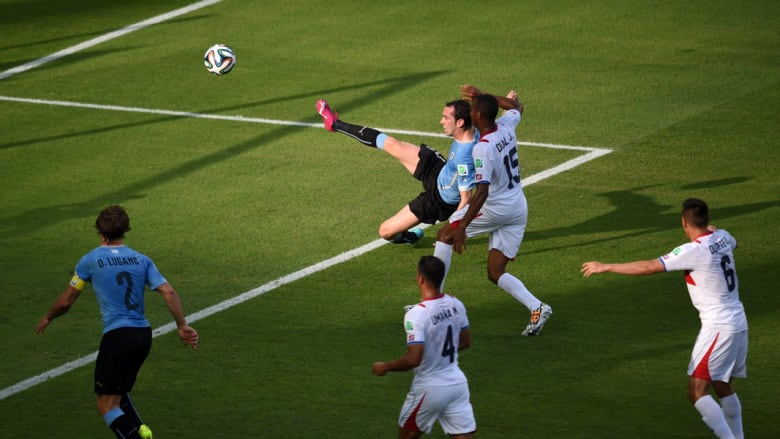 الأوروغواي وكوستا ريكا وجهاً لوجه بكأس العالم