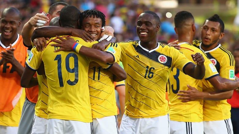 في واحدة من كبرى مفاجآت البطولة، تمكن منتخب كولومبيا من التربع على صدارة المجموعة الثالثة بالعلامة الكاملة، من ثلاثة انتصارات، على اليونان 3-0، ثم على ساحل العاج 2-1، وأخيراً على اليابان 4-1.