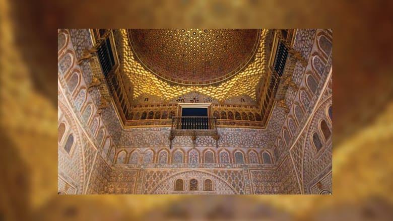 """ولكون لدى القلعة لمسات مغربية، قد يكون القصر مكان """"حدائق ماء دورن"""" في المسلسل."""