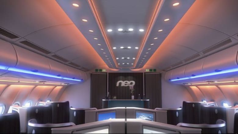 نظرة من داخل طراز نيو- إيرباص 330 الجديد
