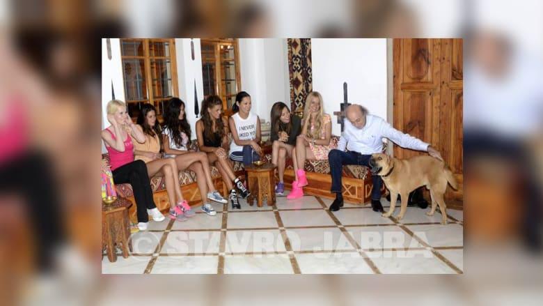 ملكات جمال عند جنبلاط