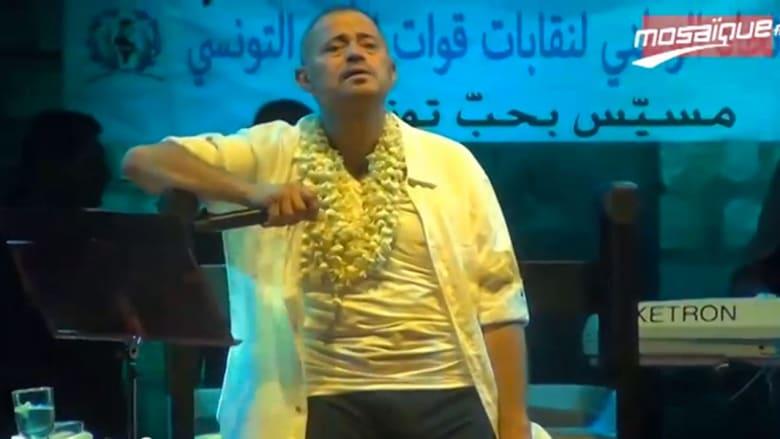 المرض أضعف أداء جورج وسوف بتونس ومعلقون يعتبرون الحفل جريمة