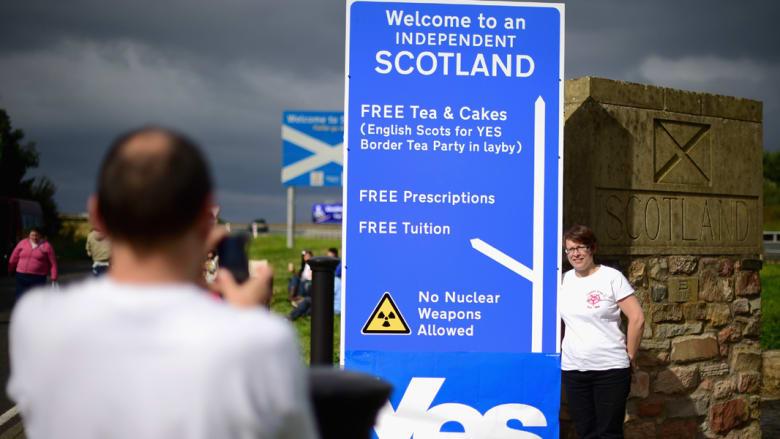 اسكتلندا بانتظار حق تقرير المصير