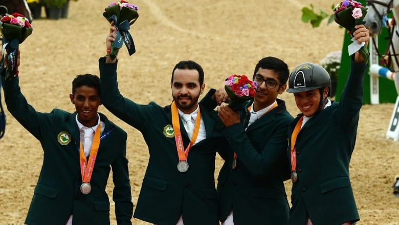 السعودية تحصد ميدالية ذهبية لجمال الخيل العربية الأصيلة وأخرى فضية لألعاب الفروسية في كوريا الجنوبية