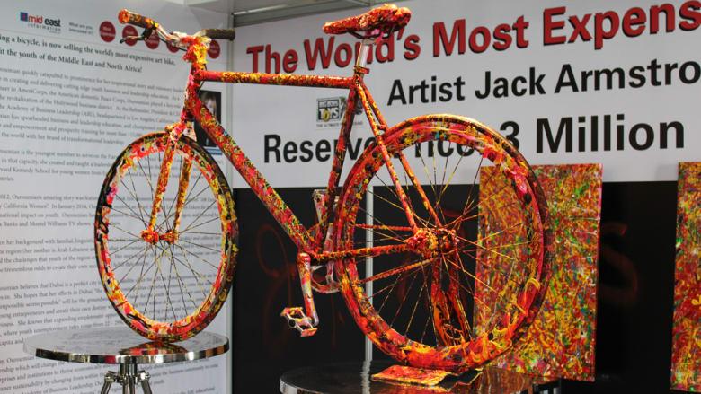 أغلى دراجة هوائية في العالم تعرض للبيع في دبي..بـ3 مليون دولار