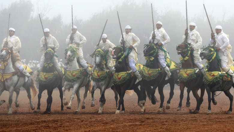 """بالصور..معرض """"الفروسية السياحية في المغرب"""""""
