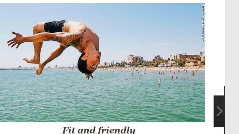 ملبون الاسترالية... مدينة اللياقة البدنية والصداقة