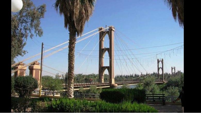 جسر دير الزور المعلق