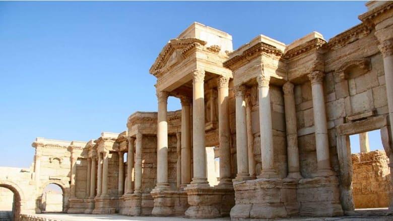 مدينة تدمر الآثرية سوريا