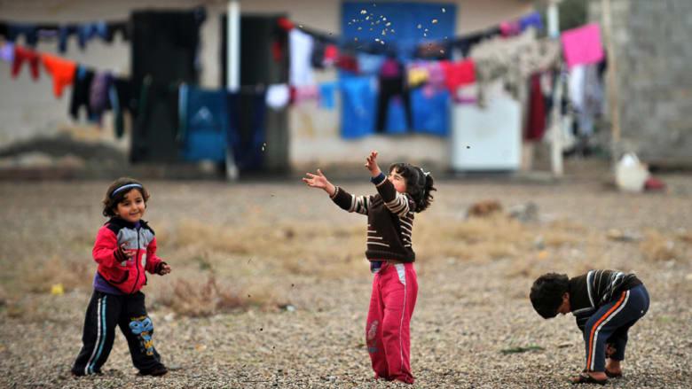 اليونسيف تعلن عن حاجة 7 ملايين طفل من لاجئي العراق وسوريا لإمدادات الشتاء
