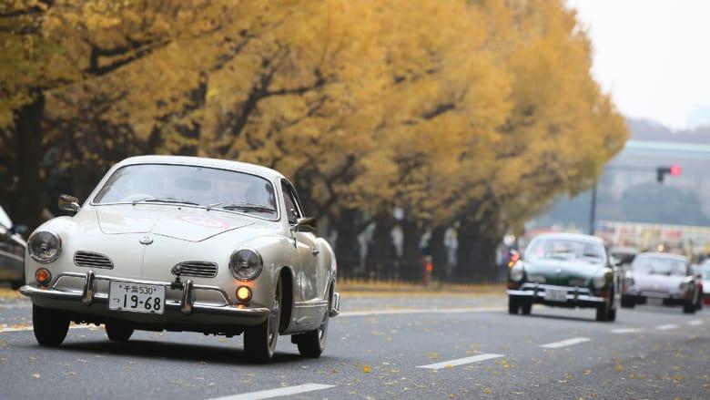 سيارات كلاسيكية أخرى شاركت في العرض