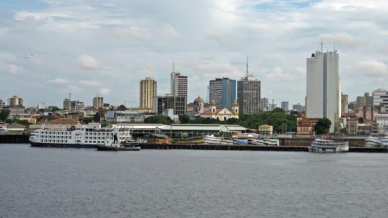 مدينة ماناوس البرازيلية، في قلب الأمازون