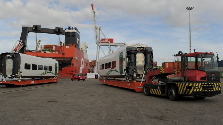 قطار الحجاج فائق السرعة الجديد يبدأ رحلته من برشلونة الإسبانية إلى جدة السعودية