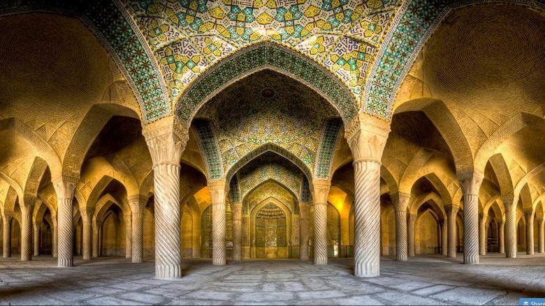 مسجد فاكيل، شيراز، إيران.