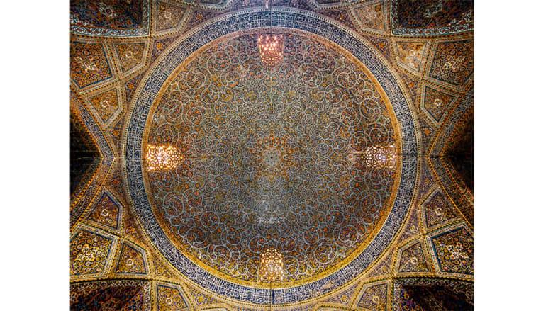 مسجد قبة السيد، أصفهان، إيران.