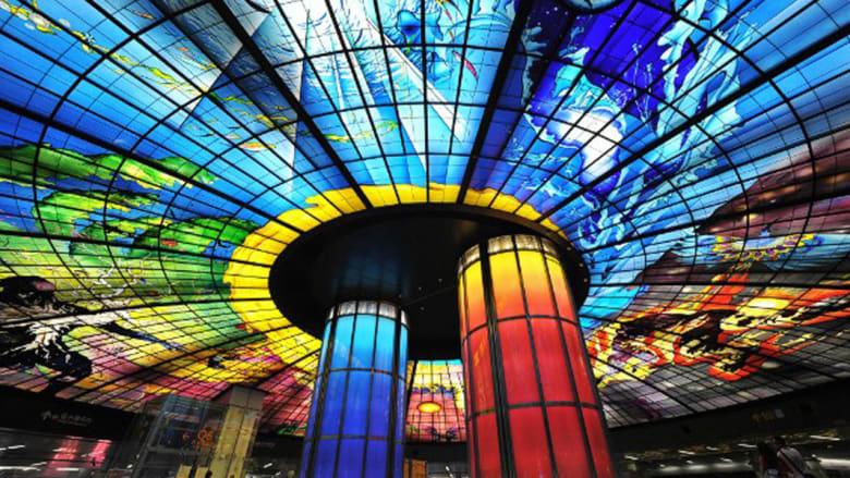 بالصور..أجمل محطات المترو في العالم