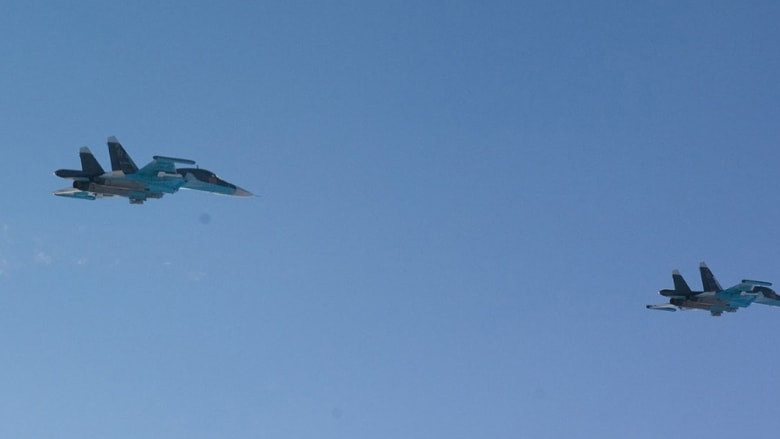 طائرتان روسيتان