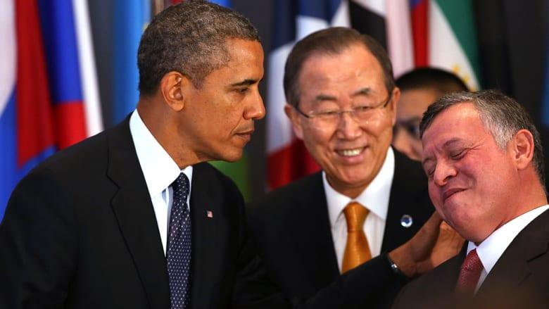 بالصور.. تعابير على وجوه قادة من العالم