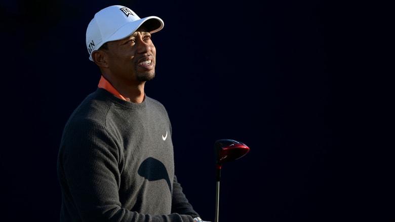 لاعب الغولف المحترف تايغر وودز