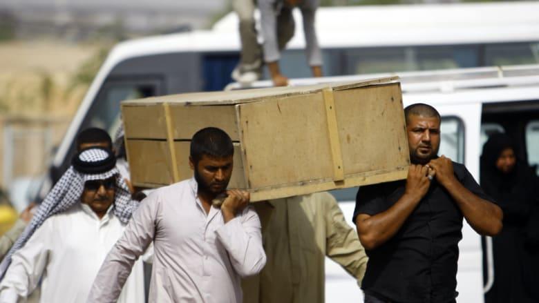 تشييع أحد ضحايا القتال مع داعش في الرمادي