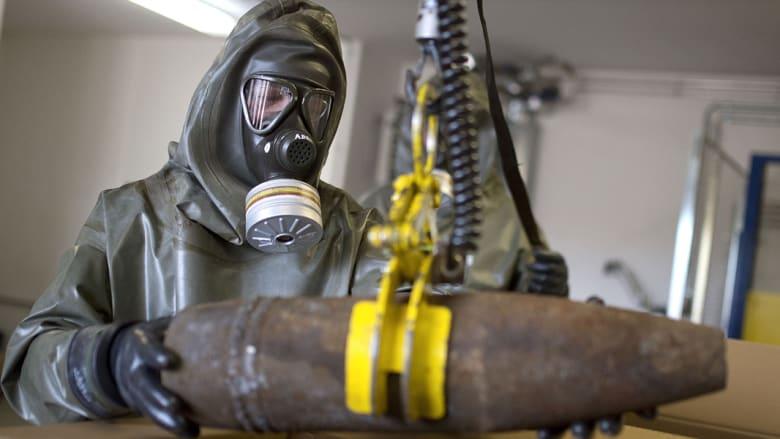 روسيا: قدرات الأسلحة الكيماوية السورية أصبحت صفراً