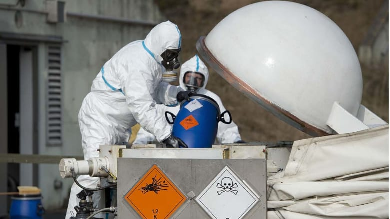 منظمة حظر الأسلحة الكيميائية: ثلاثة أرباع مخزون سوريا تم تدميره