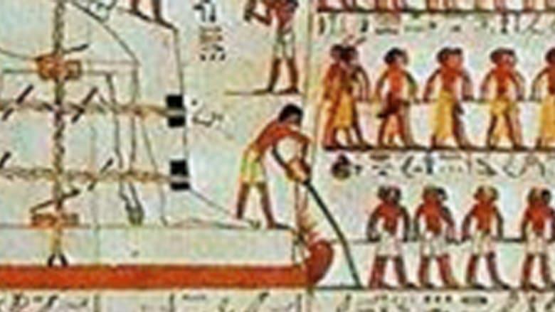 صورة منشورة منذ عقد قد تحلّ لغز بناء الأهرامات