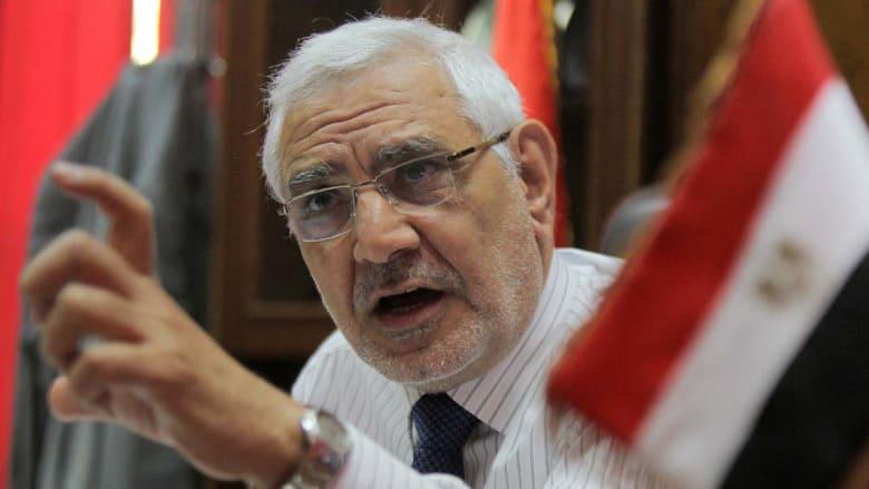 أبوالفتوح يطل على السباق الرئاسي: النتيجة محسومة ولن أدعم صباحي أو أعود للإخوان