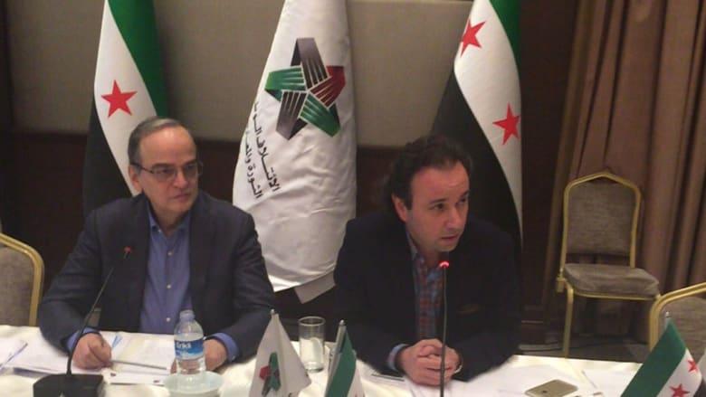 انتخابات الائتلاف السوري المعارض: خالد خوجة رئيسا خلفا للبحرة وهشام مروة نائبا له