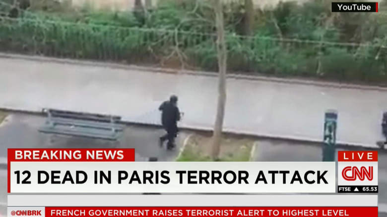 بالصور.. هجوم على صحيفة تشارلي إيبدو الفرنسية في باريس