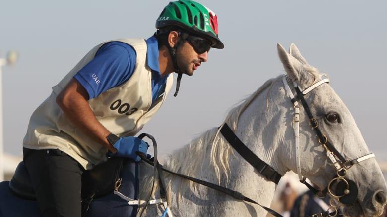ولي عهد دبي بطل كأس محمد بن راشد للقدرة