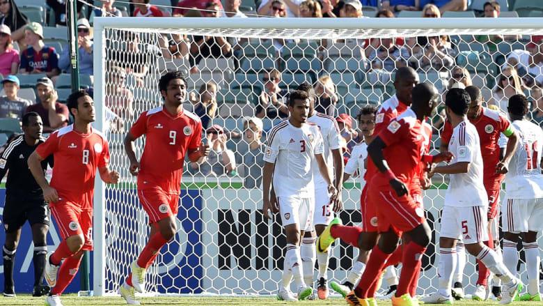 هدف البحرين في مرمى الإمارات